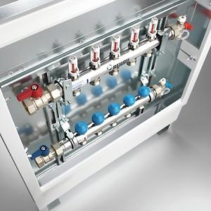Колекторен шкаф UP за вграден монтаж